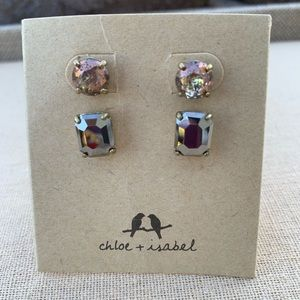 Chloe + Isabel Artisan Stud Duo Earrings